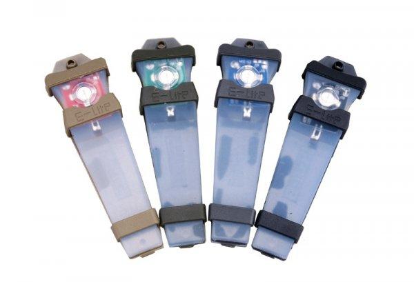 Zestaw elektronicznych znaczników świetlnych
