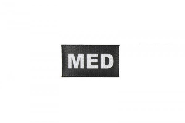 Naszywka IR - MED - czarna