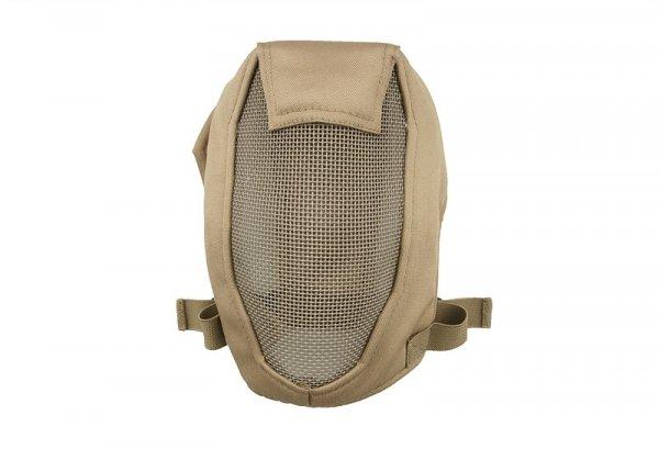 Pełna maska stalowa Ventus - TAN