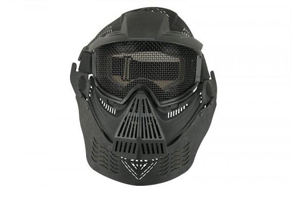 Pełna Maska Ultimate Tactical Guardian V2 - Czarna
