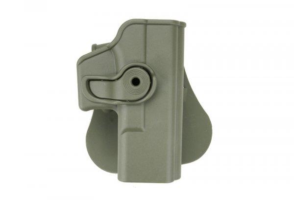 Kabura polimerowa oliwkowa do typu Glock 19/23/32