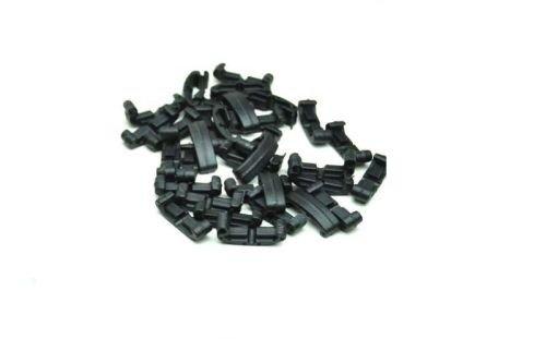 Klipsy na szynę RIS 22 mm 60x - BK