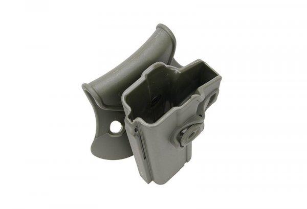 Kabura polimerowa do Glocka 17/22/31 DLA LEWORĘCZNYCH - oliwkowa
