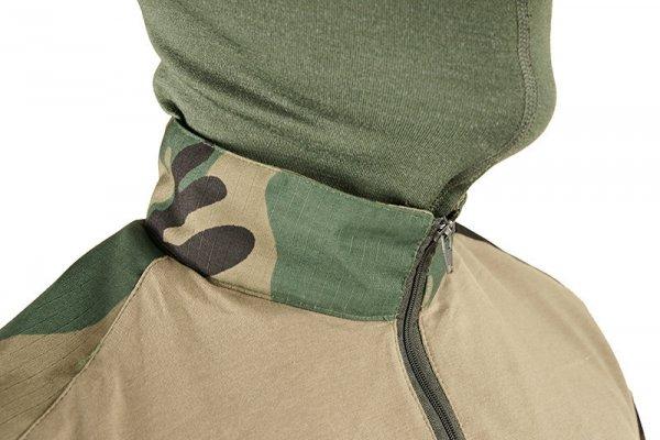 Bluza Combat Shirt  - woodland