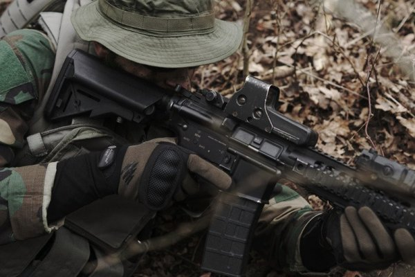 Rękawice taktyczne Armored Claw Shield - czarne