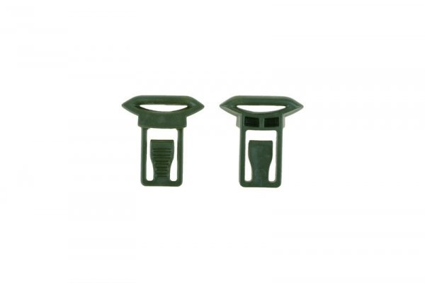 Klipsy do montażu gogli (19mm) - olive drab