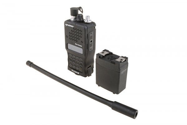 Atrapa radioodbiornika PRC-152 -  czarna