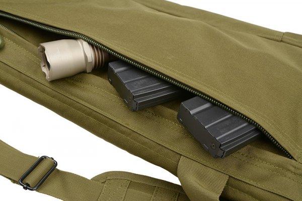Pokrowiec na broń 100cm - czarny