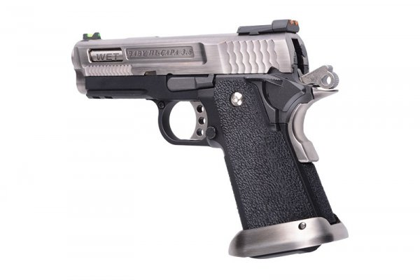 "WE  - Replika Hi-Capa 3.8 Force ""Brontosaurus"" - srebrna"