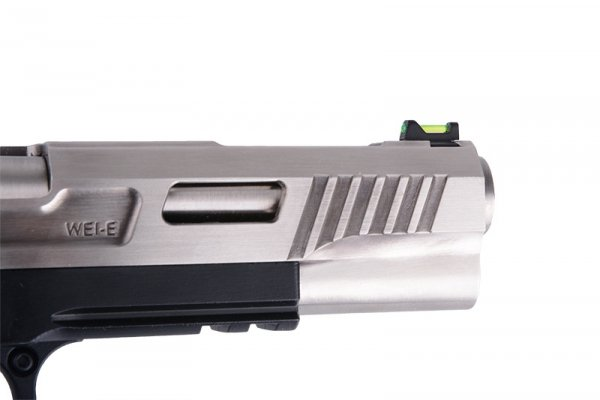 WE - Replika Hi-Capa 5.1 Force T.REX - srebrna