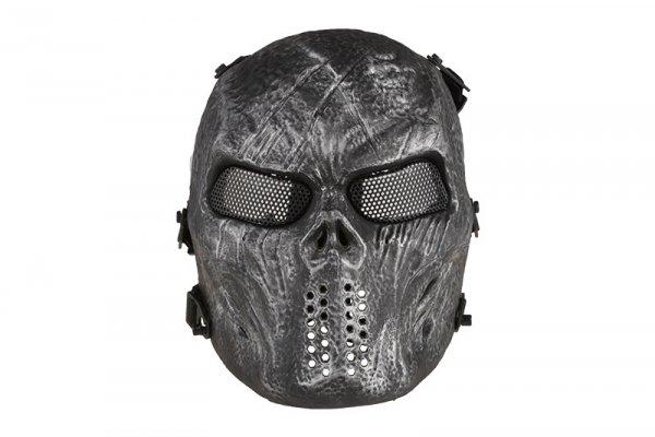 Maska Tactical Skull - Silver