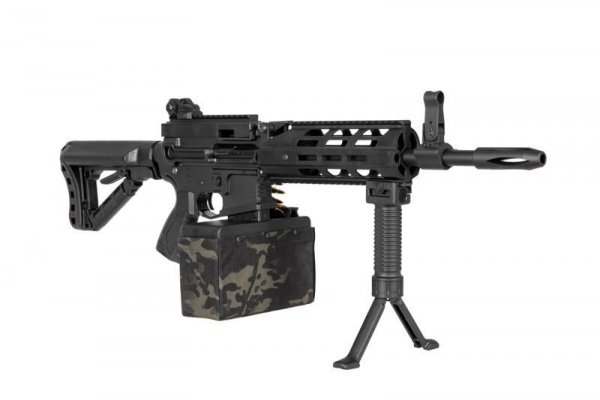 G&G - Replika CM16 LMG Stealth - czarna