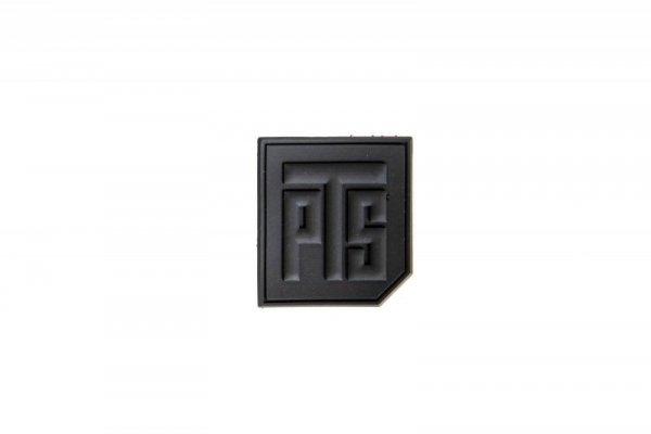 Naszywka 3D 1.5 PVC Tab - czarna