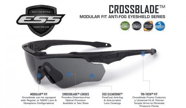 ESS - Crossblade One Smoke Gray - EE9032-08