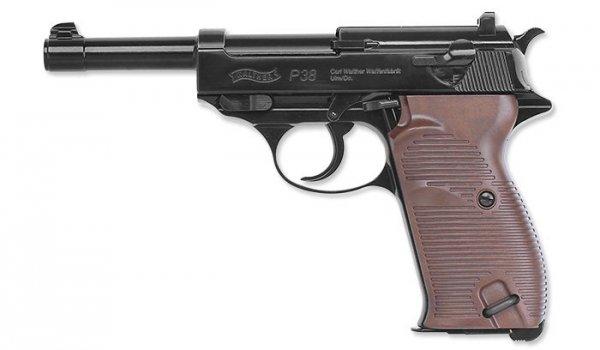 Umarex - Wiatrówka Walther P38 - 4,5 mm - 5.8089