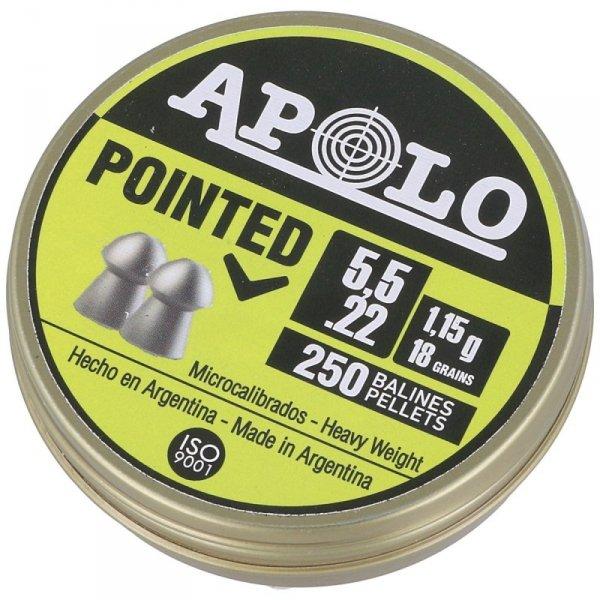 Apolo - Śrut Pointed Extra Heavy GEN-2 5,5mm 250szt. (E19601)