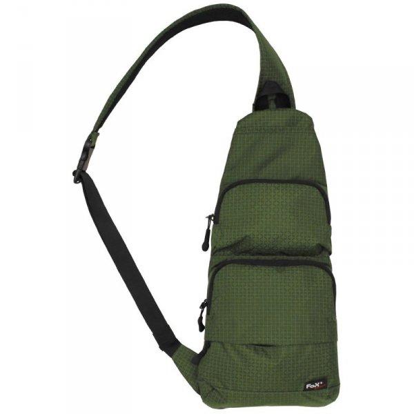 Fox Outdoor - Plecak na jedno ramię - oliwkowy