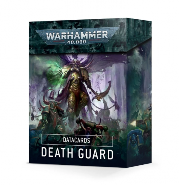 Warhammer 40K - Datacards Death Guard