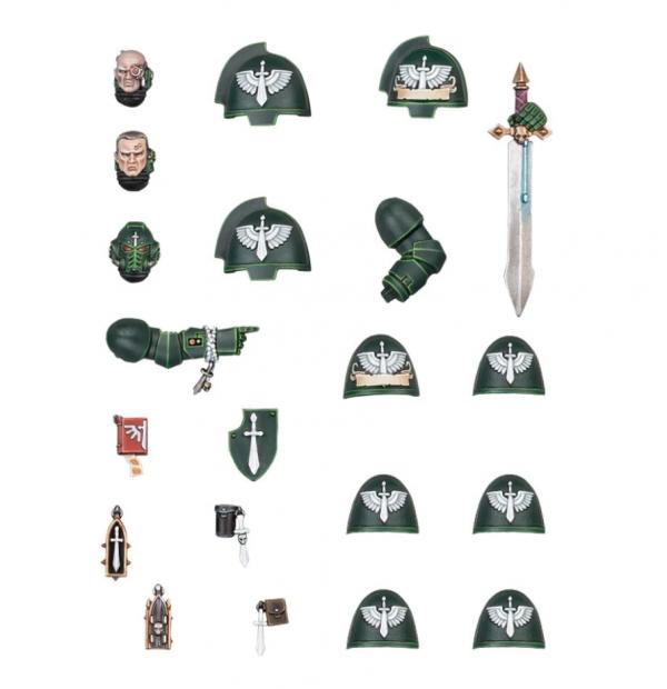 Warhammer 40K - Dark Angels Primaris Upgrades