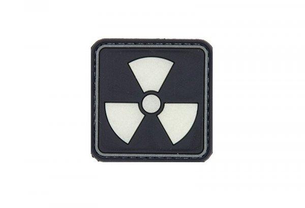 Naszywka 3D - H3 Radioactive - świecąca w ciemności