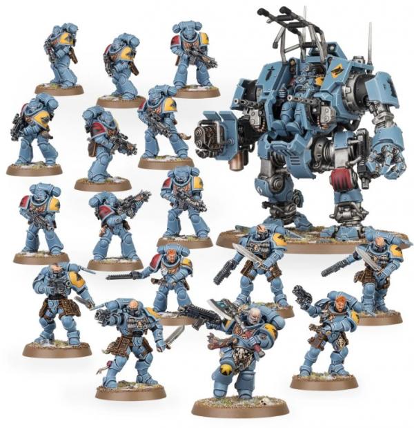 Warhammer 40K - Combat Patrol Space Wolves