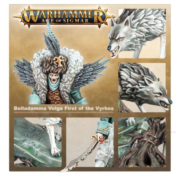 Warhammer AoS - Belladamma Volga First of the Vyrkos