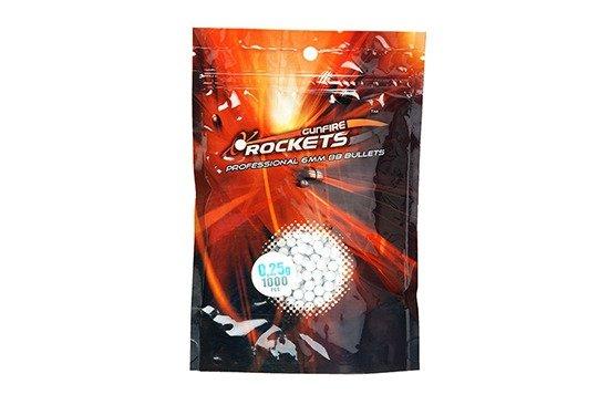 Rockets - Kulki Professional 0,25g 1000szt.