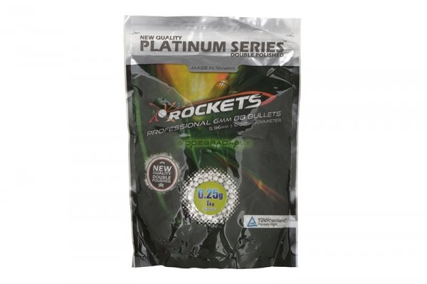 Kulki Rockets Platinum Series BIO 0,25g - 1kg