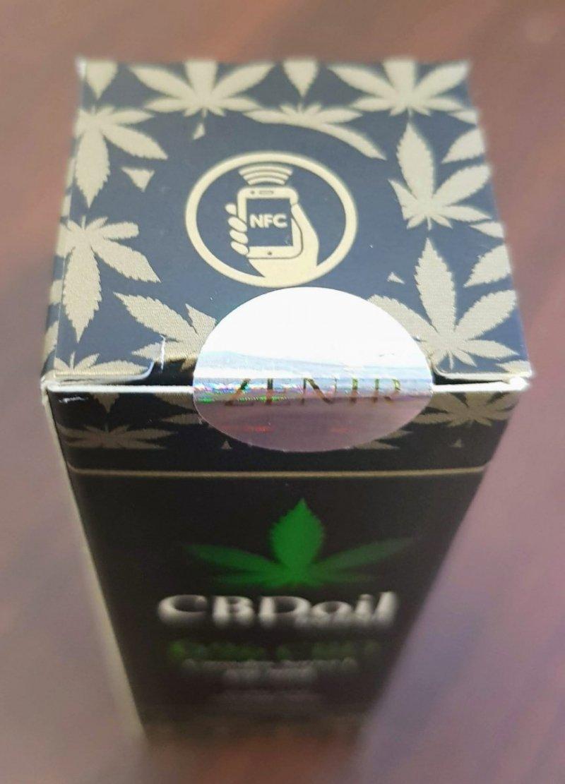 Chip NFC w olejkach CBD Zenir 6% CBD
