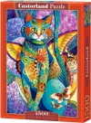 Puzzle 1500 Castorland C-151488 Kot - Feline Fiesta_02
