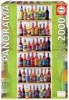 Puzzle 2000 Educa 18010 Świat Piwa - Panorama