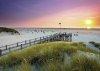 Puzzle 1000 Ravensburger 198771 Plaża - Zachód Słońca nad Amrum
