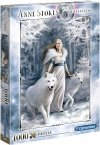 Puzzle 1000 Clementoni 39477 Anne Stokes Collection - Strażnicy Zimy
