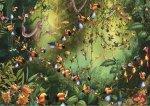 Puzzle 1000 Piatnik P-5491 Ruyer - Tukany w Dżungli