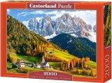 Puzzle 2000 Castorland C-200610 Dolomity - Kościół