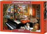 Puzzle 2000 Castorland C-200641 Martwa Natura - Fortepian