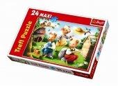 Puzzle 24 Maxi Trefl 14129 Trzy Małe Świnki