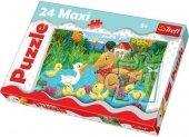 Puzzle 24 Maxi Trefl 14186 Brzydkie Kaczątko