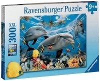 Puzzle 300 Ravensburger 130528 Delfiny