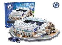 Puzzle 3D Trefl M-3725 Model Stadionu Stamford Bridge - Chelsea F.C. 171 el.