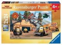 Puzzle 2x24 Ravensburger 09846 Samoloty w Akcji 2w1