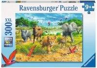 Puzzle 300 Ravensburger 132195 Dzieci Afrykańskich Zwierząt