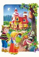 Puzzle 20 Maxi Castorland C-02153 Jaś i Małgosia