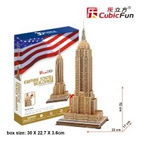 Puzzle 3D CubicFun 55 Empire State Building - MC048h