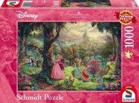 Puzzle 1000 Schmidt 59474 Thomas Kinkade - Śpiąca Królewna - Disney