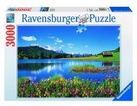 Puzzle 3000 Ravensburger 170388 Magiczne Góry