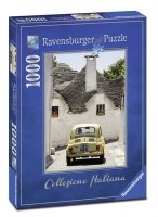 Puzzle 1000 Ravensburger 196654 Kolekcja Italiana - AlberoBello