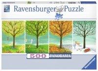 Puzzle 500 Ravensburger 147069 Cztery Pory Roku - Panorama