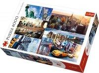 Puzzle 4000 Trefl 45006 New York - Kolaż