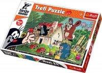 Puzzle 24 Maxi Trefl 14197 Krecik - Budowa Domu